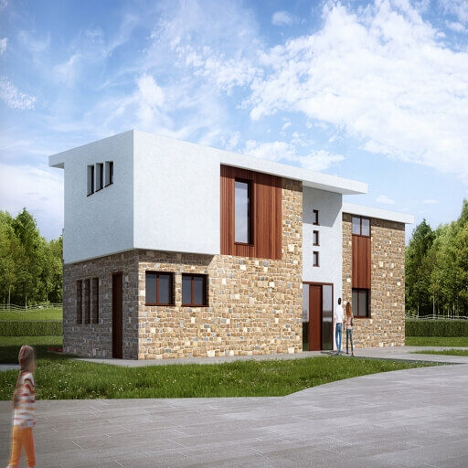 new build house swoon architecture