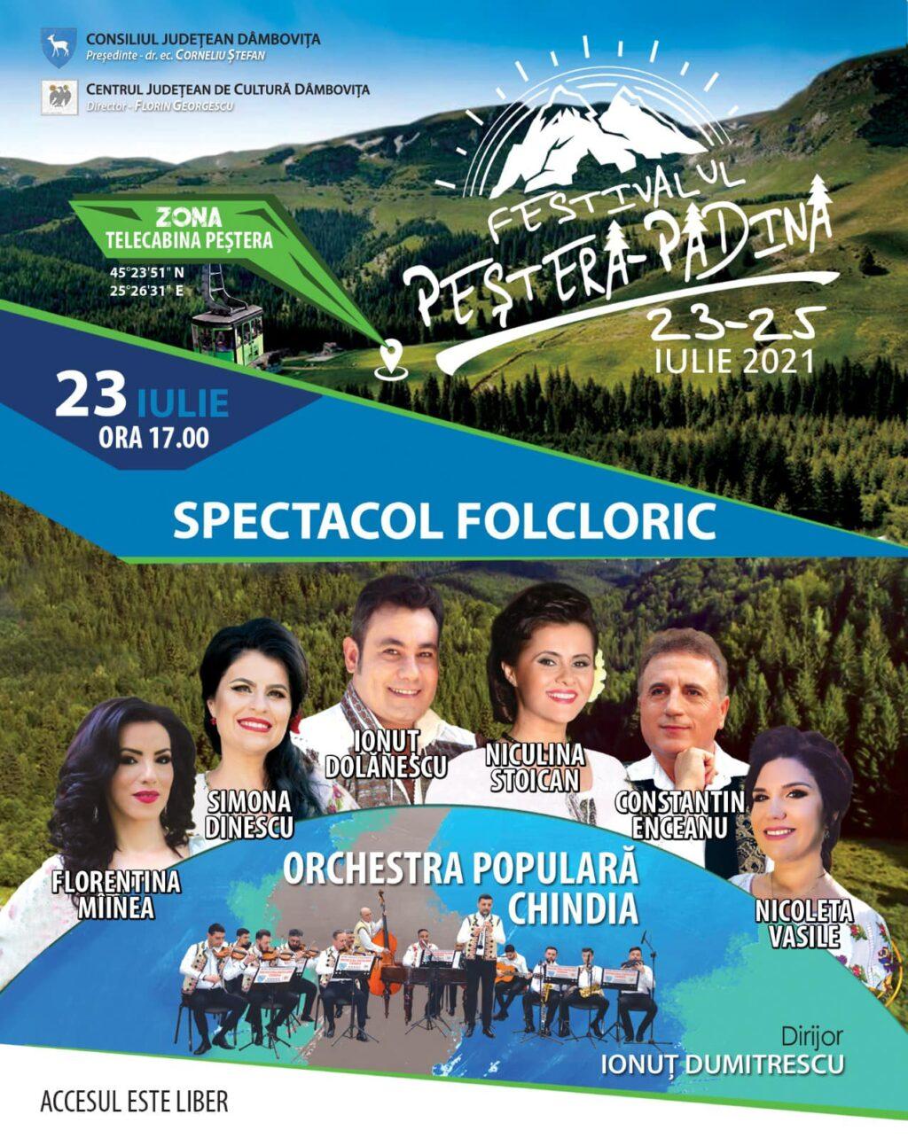 Festivalul Peștera-Padina revine cu o nouă ediție în perioada 23 – 25 iulie