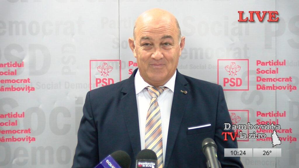 Primarul municipiului Moreni, replică dură la adresa adversarilor politici