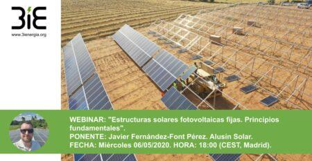 Webinar Estructuras fotovoltaicas
