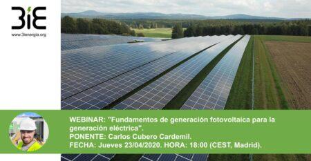 Webinar Fotovoltaica