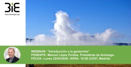 Webinar Geotermia