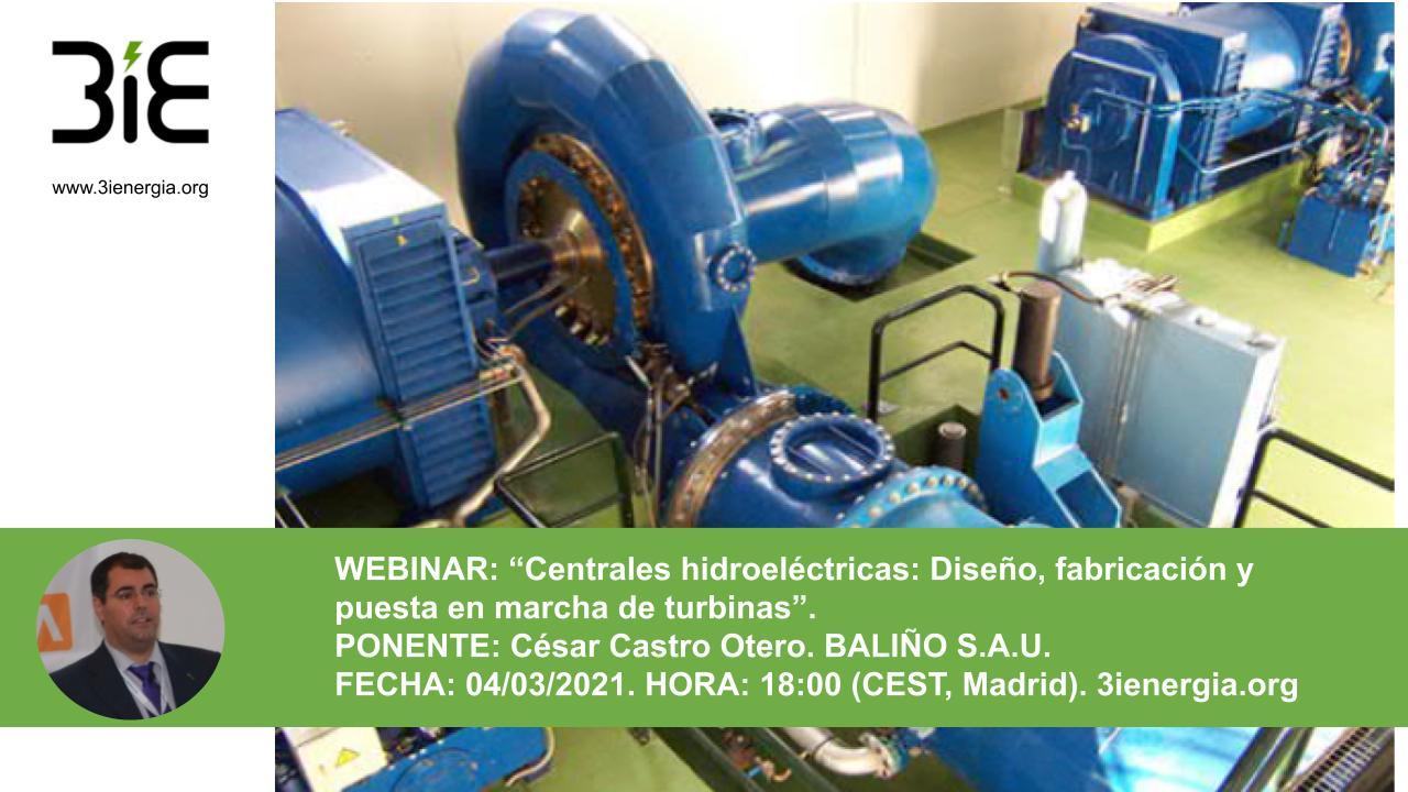 Webinar Centrales hidroeléctricas