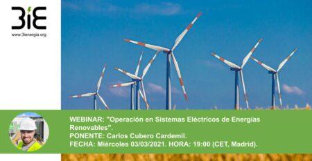 Webinar Operacion en renovables