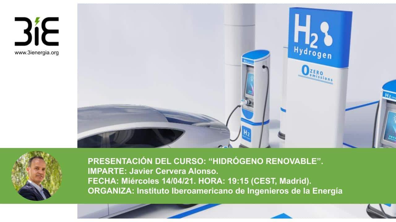 Presentación de Curso de hidrógeno