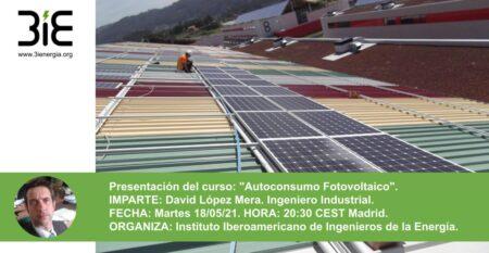 Presentación de Curso Autoconsumo Fotovoltaico