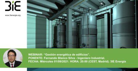 Webinar Gestión Energética Edificios