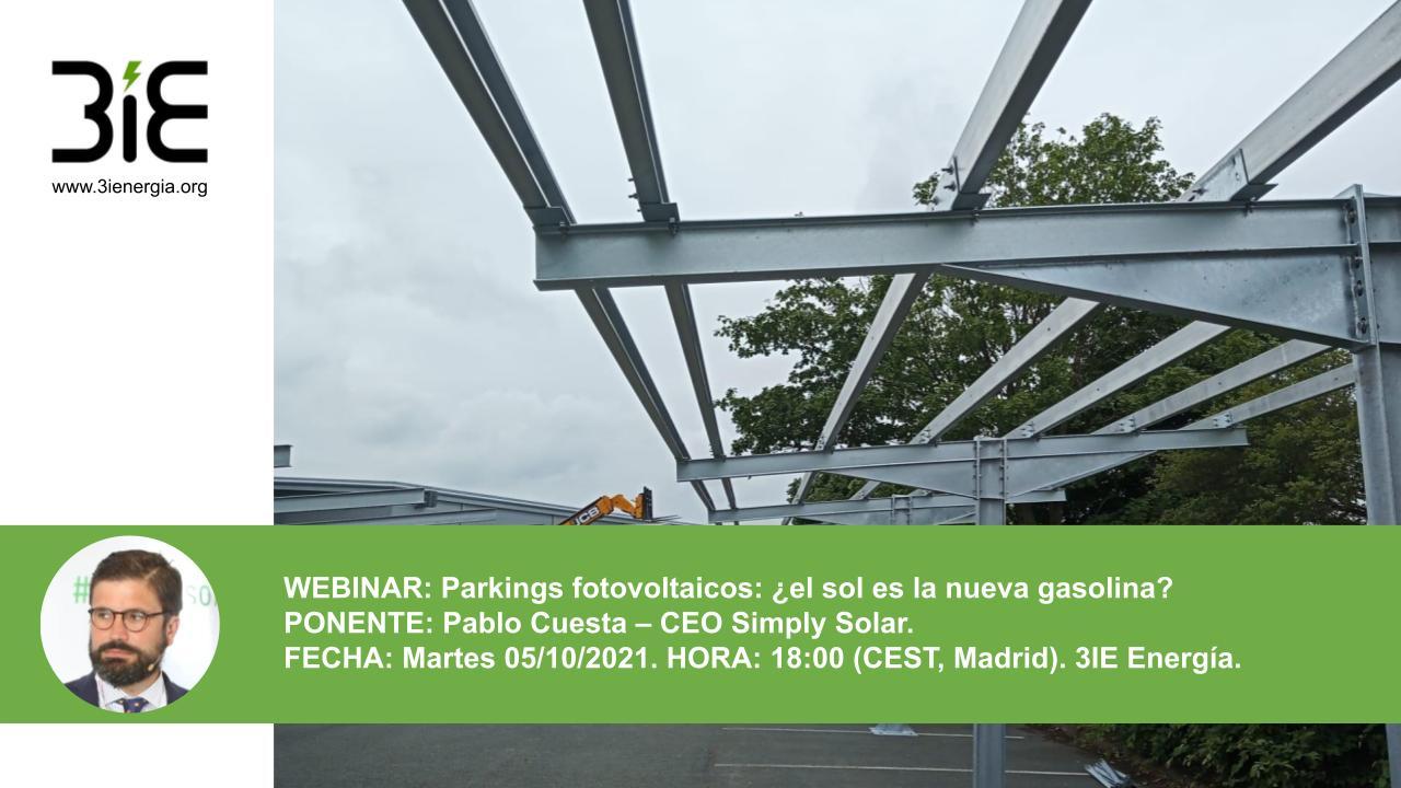 Webinar parkings fotovoltaicos