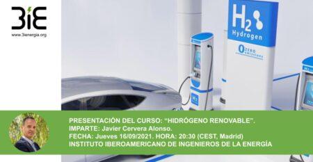 Presentación de Curso de hidrógeno renovable