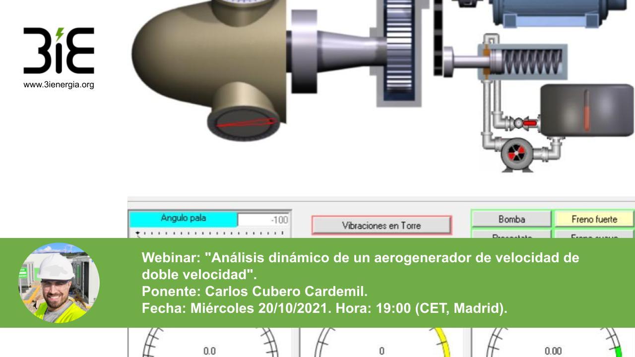 Webinar análisis dinámico aerogenerador
