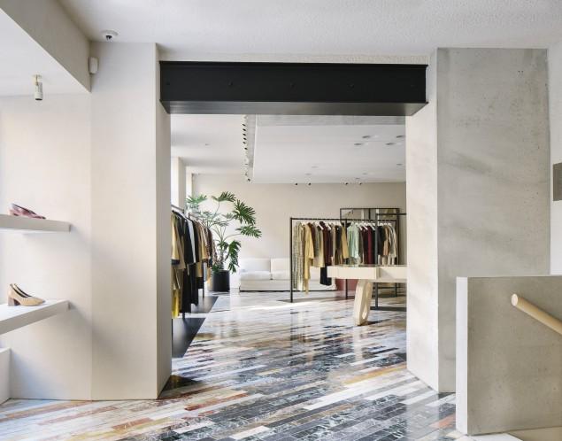 celine store in milan