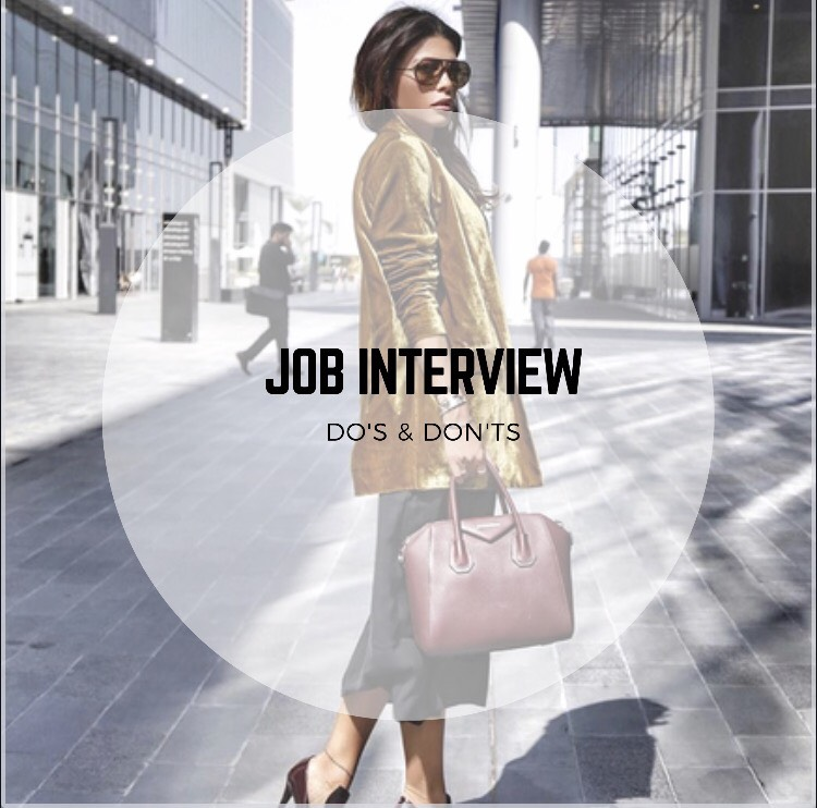 Job Interview: Do's & Don'ts!
