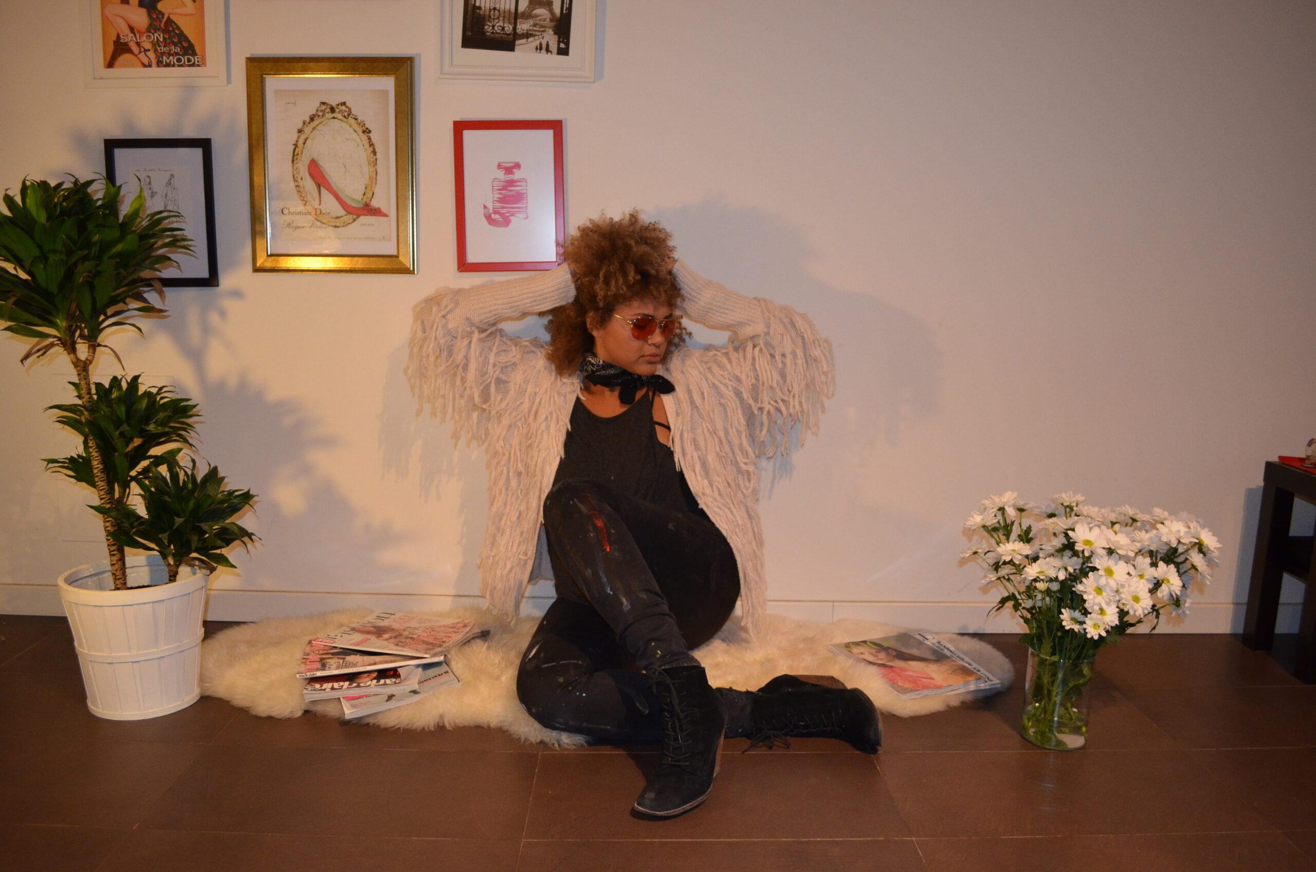Fashion Styling in Milan. Styling the artist Jenny Perez!
