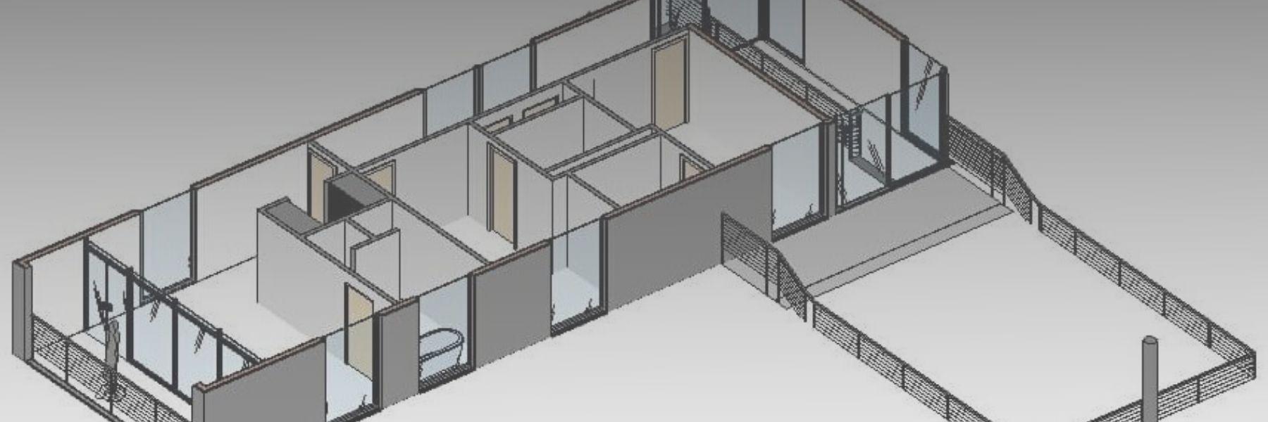 Box di Sezione 3D di Revit