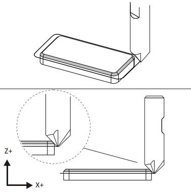 Lavorazioni CNC 2D con Inventor CAM - chamfer milling
