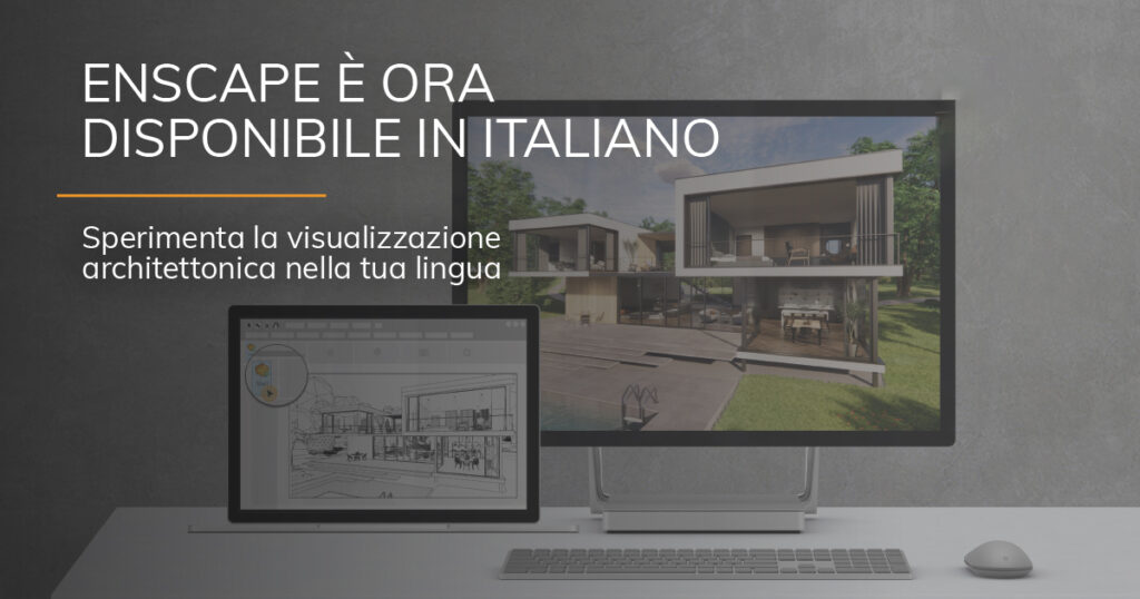 Enscape Rendering in Tempo Reale integrato in Autodesk Revit ora disponibile in italiano