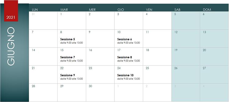 Corso Revit MEP Calendario Giugno