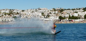 Activities Page - Waterskiing Photo