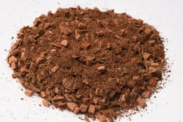 material de turba de coco PLF para bolsas de cultivo
