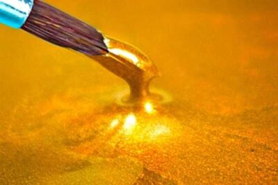 shimmer gold epoxy resin art epodex