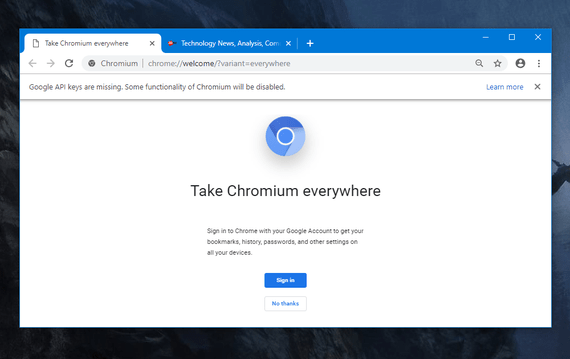 This image has an empty alt attribute; its file name is chromium.png