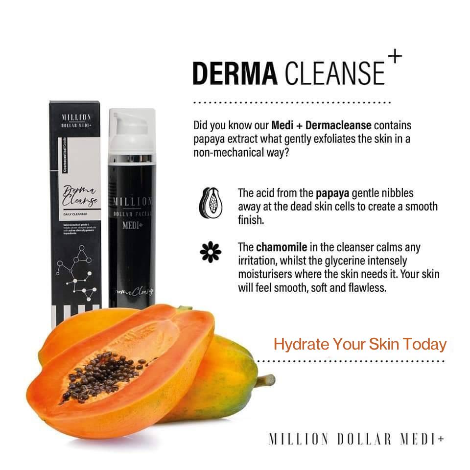 Million Dollar Facial Medi+ Virtual Consultation Derma cleanse