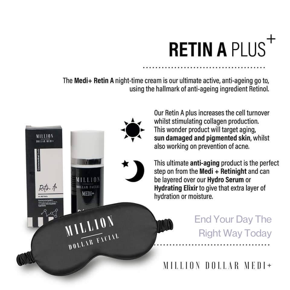 Million Dollar Facial Medi+ Virtual Consultation Retin A Plus