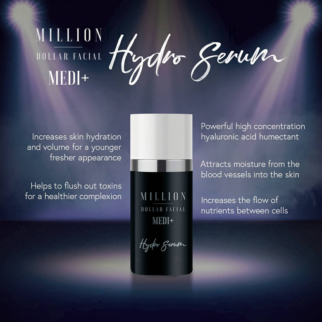 Million Dollar Facial Hydro Serum at Uber Pigmentations