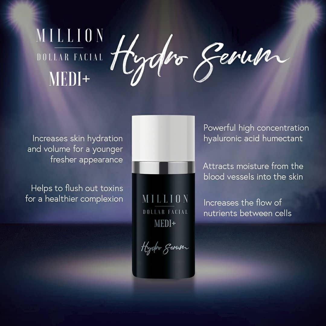 Million Dollar Facial Hydro Serum at Uber Pigmentations