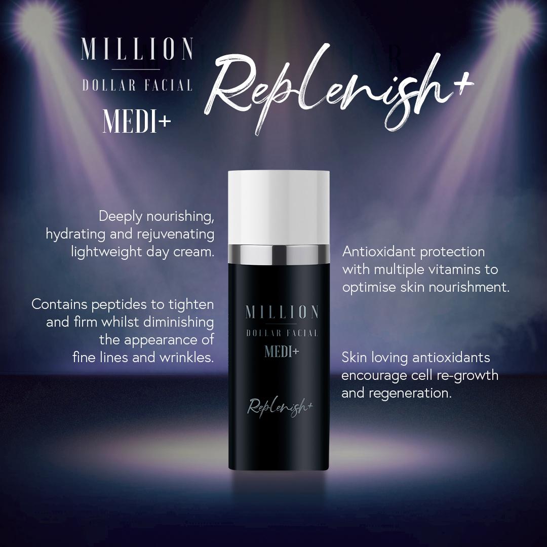 Million Dollar Facial Medi+ Replenish+ at Uber Pigmentations