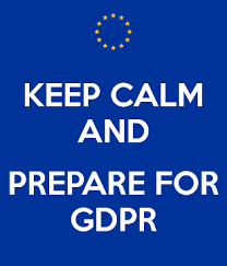 Keeo Calm and Prepare for GDPR