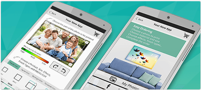 Wide format printing is going APP
