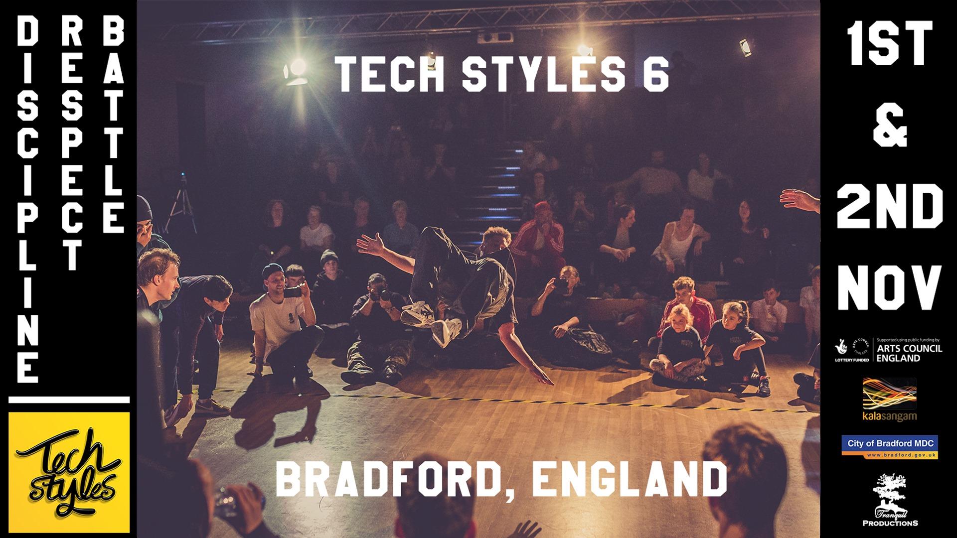Tech Styles 6 – International Breakin Event