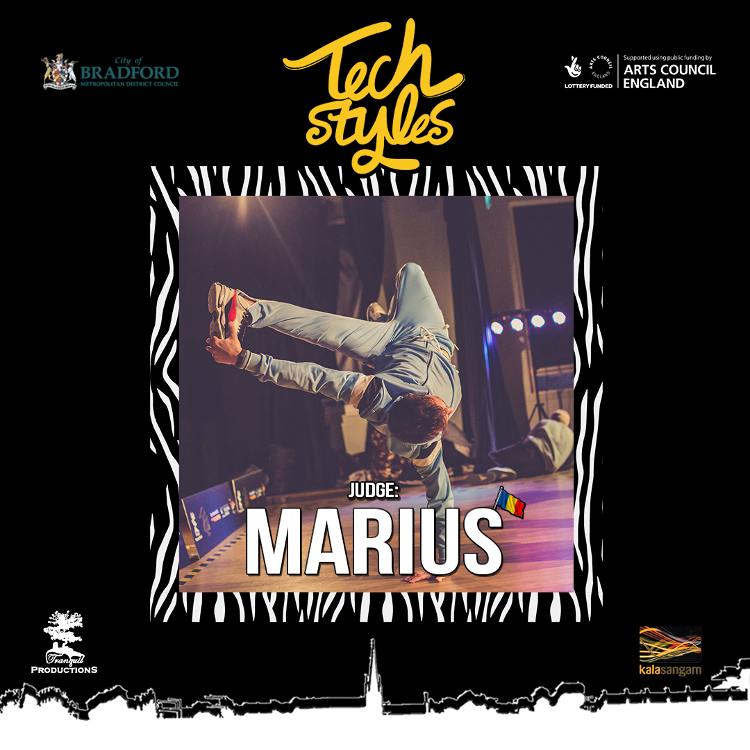 Tech Styles Judge Marius