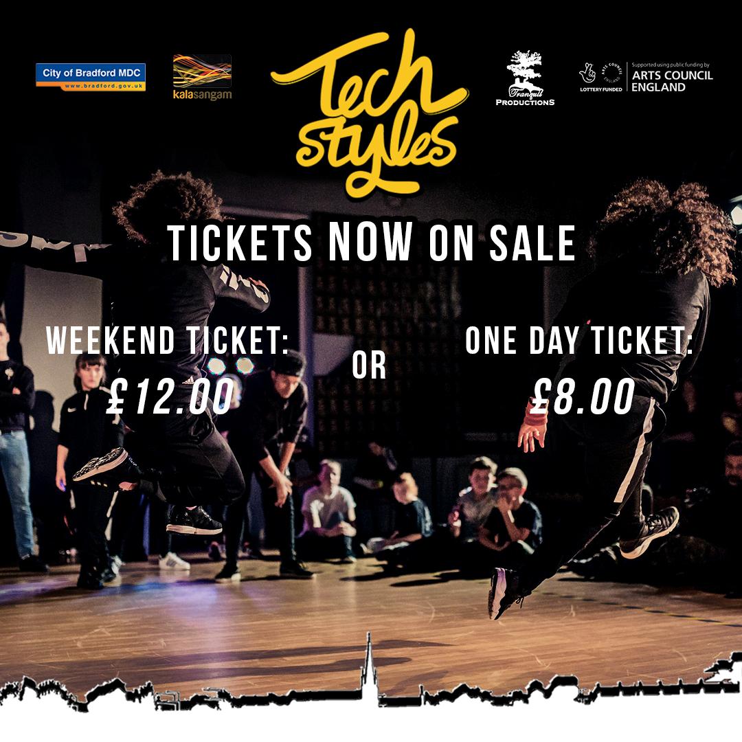 Tech Styles 6 Ticket Sales