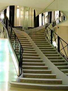 chanel famous staircase