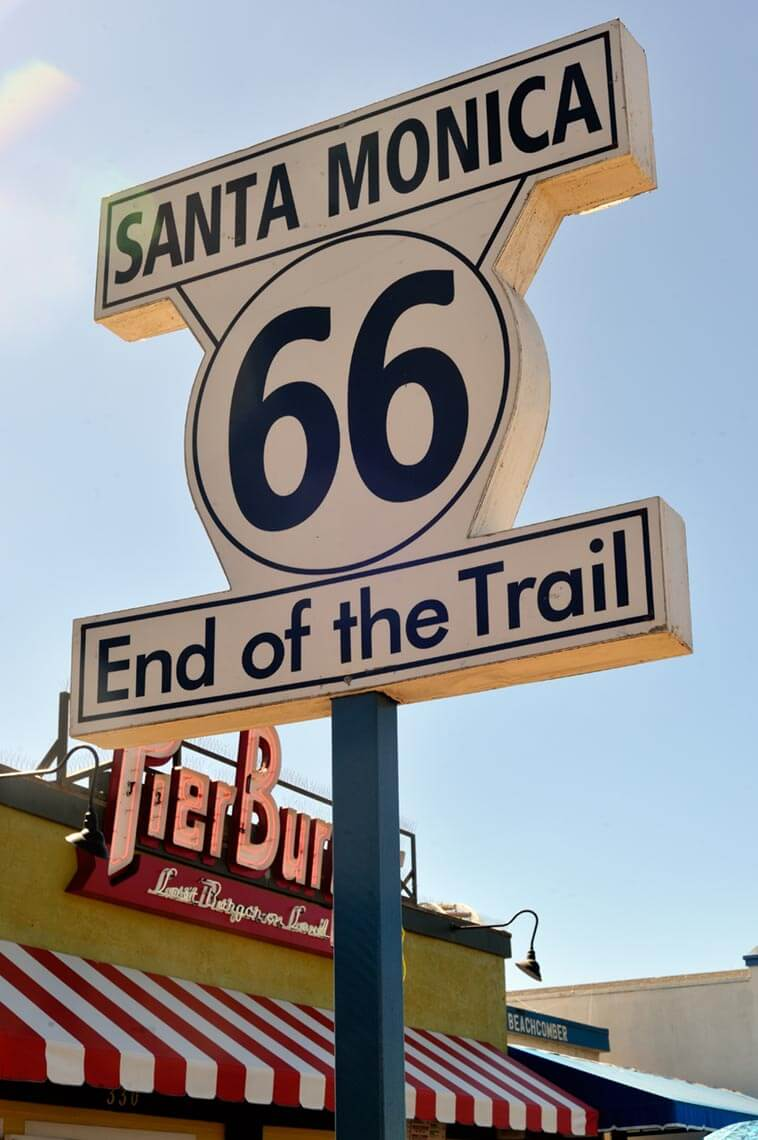 End of the icon Route 66