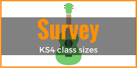 The size of KS4 classes