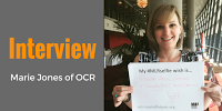 Interview: Marie Jones of OCR
