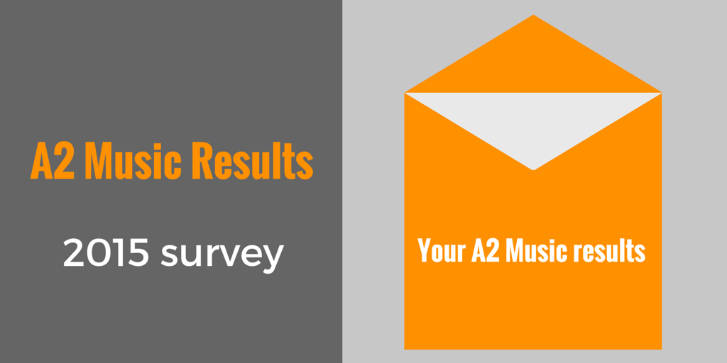 A2 Music Results Survey 2015