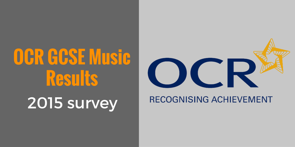 OCR GCSE Music results survey 2015