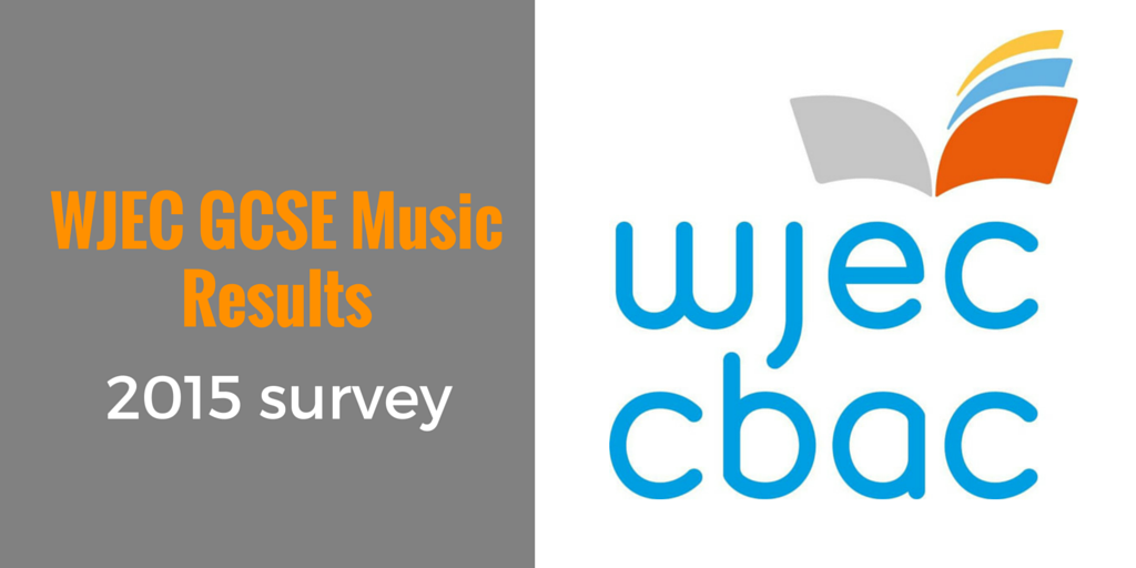 WJEC GCSE Music results survey 2015