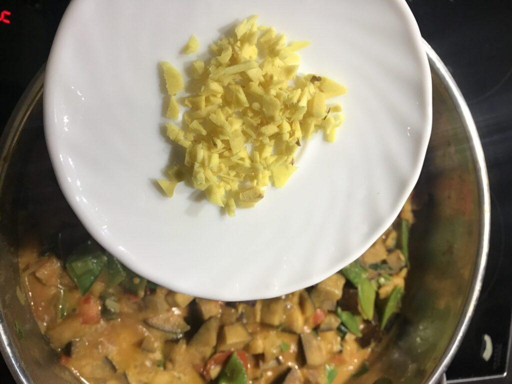 Ingwer für Curry