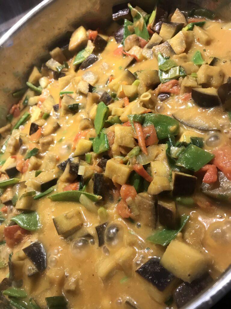 Curry Nahaufnahme
