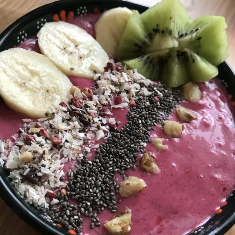 Smoothie Bowl Himbeere