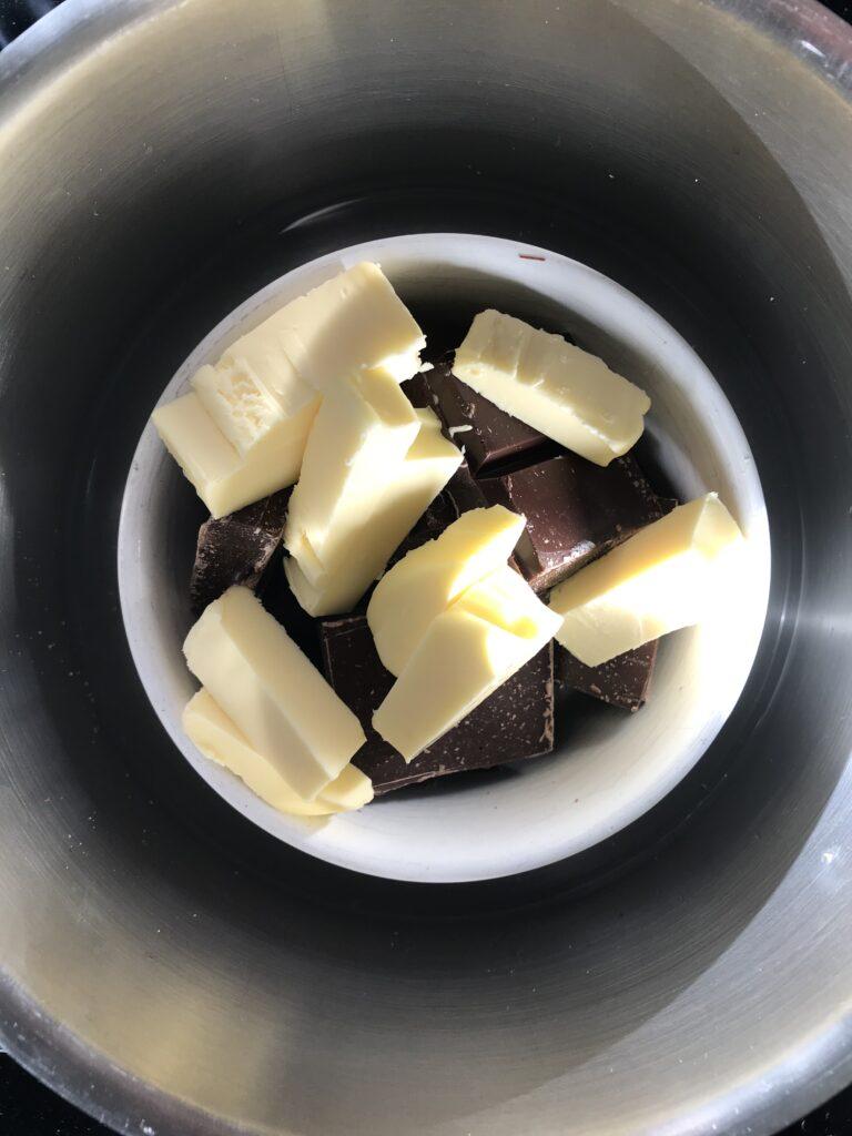 Schoko und Butter