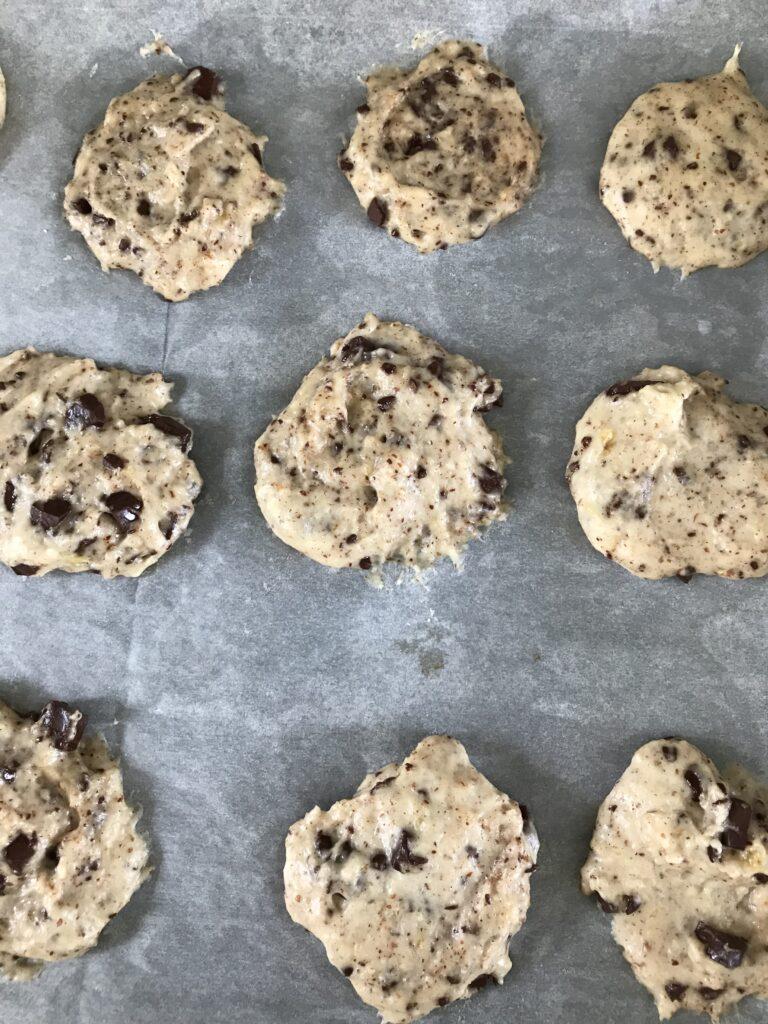 Cookies am Blech