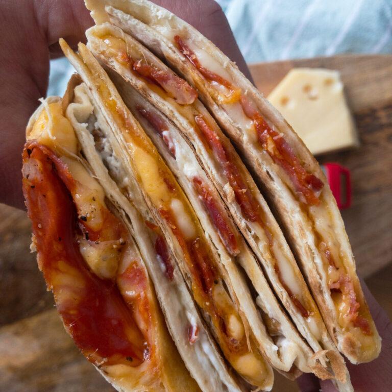 Quesadillas auf zwei Arten