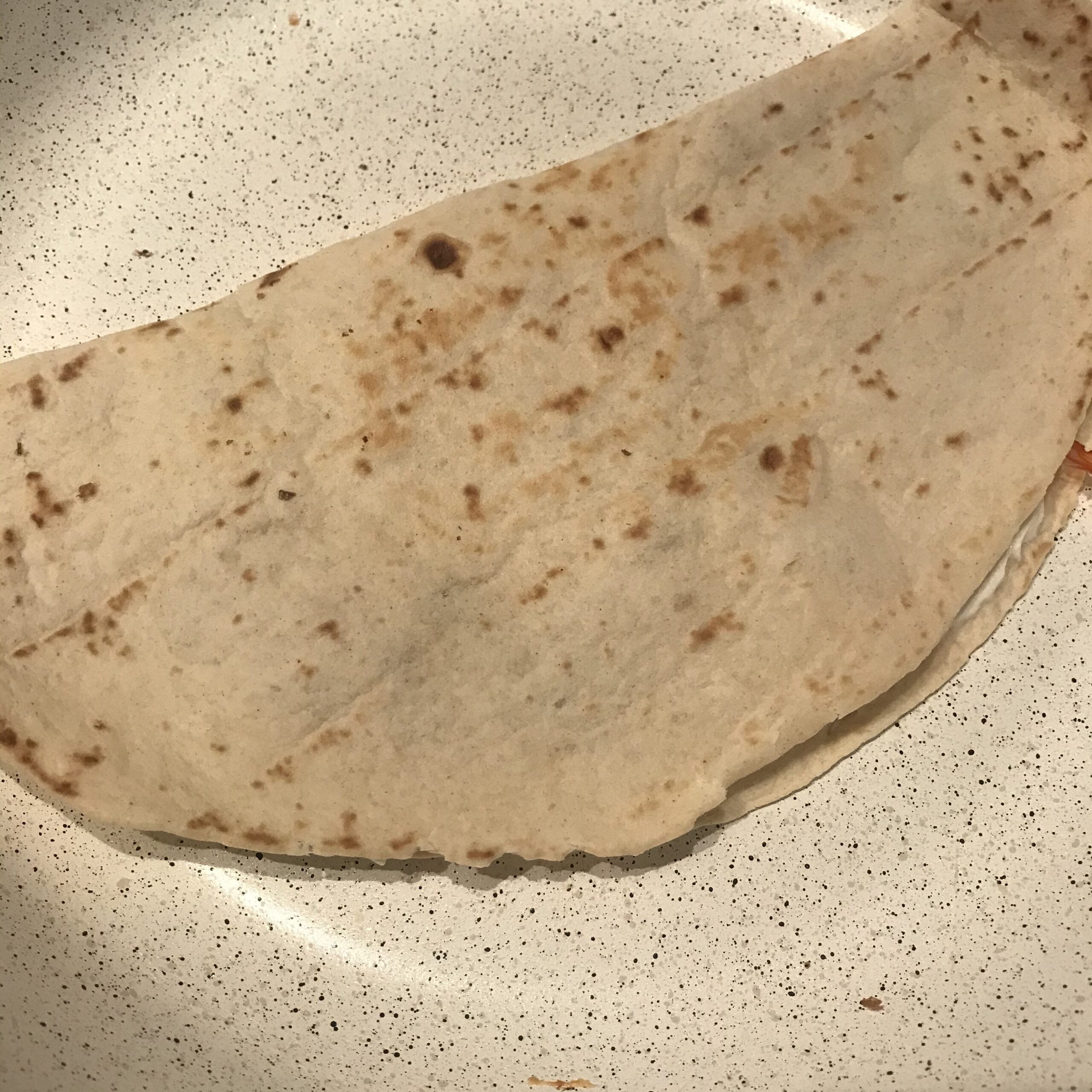 Quesadilla in Pfanne