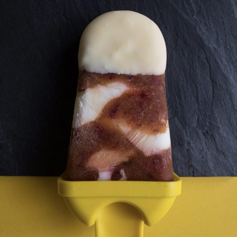Joghurt-Zwetschgen-Eis